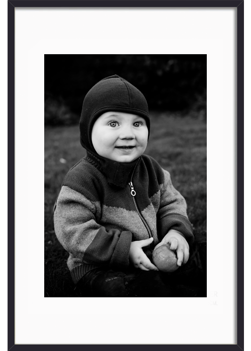 fotorammer i sortmalet træ - framethebaby